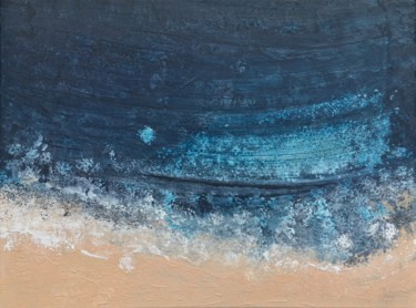 Blue Zone 1 (80x60cm) Ready to hang-Free shipping