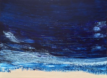 Blue Zone 4 (80x60cm) Ready to hang-Free shipping
