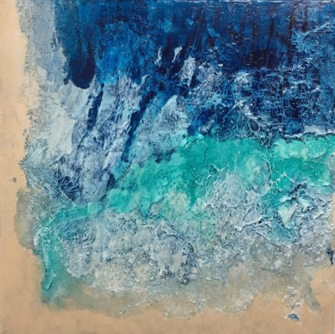 Diamonds in the Sea (Ready to hang-Free shipping)
