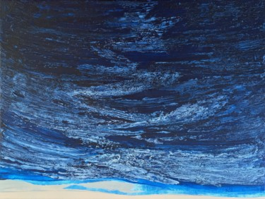 Blue Zone 8 (80x60cm) Ready to hang-Free shipping