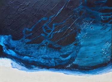 Blue Zone 7 (80x60cm) Ready to hang-Free shipping