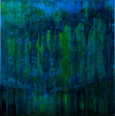 From Blue To Green (Ready to hang-Free shipping)