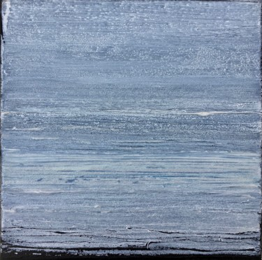 Blue-Gray Calm #2015 Ready to hang - Free shipping