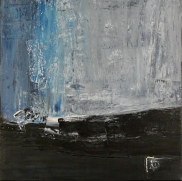 Ice Blue (Ready to hang - Free shipping)