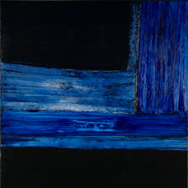 Spotlight on Prussian Blue (Ready to hang)